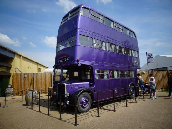 The Knight Bus In Real Life Size Picture Of Warner Bros