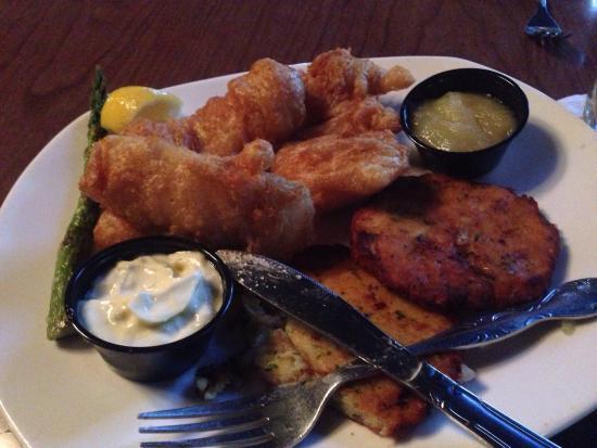 ซันแพรรี, วิสคอนซิน: Excellent Wisconsin 'fish fry' and more....