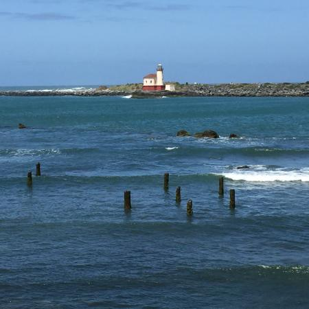 Lighthouse Bed and Breakfast: Lighthouse Views from property