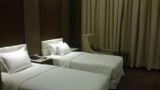 The Ardjuna Boutique Hotel & Spa : kamar twin sheo
