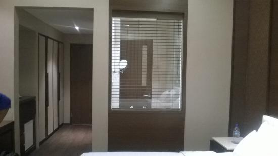 أردجونا بوتيك هوتل باندونج: tampilan kamar mandi
