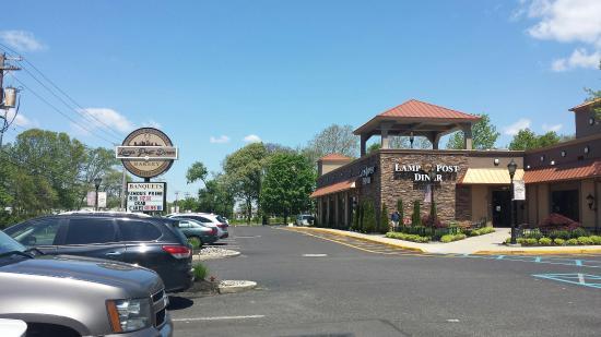 Huge Reuben! - Picture of Lamp Post Diner, Clementon - TripAdvisor