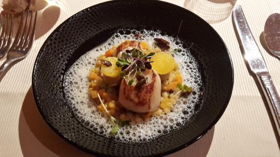 Noix de st jacques photo de la table de mittelwihr mittelwihr tripadvisor - Restaurant la table de mittelwihr ...