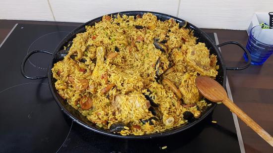 El Cocinero Paella