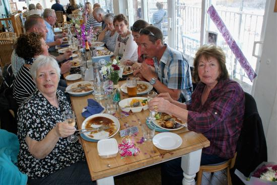 The Breakwater Bistro: Roast dinner for a 70th Birthday celebration at a recent Sunday Lunchtime visit.