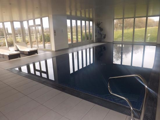 Dulcote, UK: Pool in on-site leisure/fitness facility