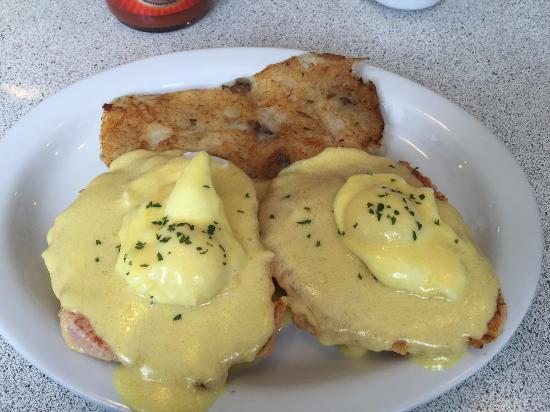 Barrie, Kanada: Eggs benedict