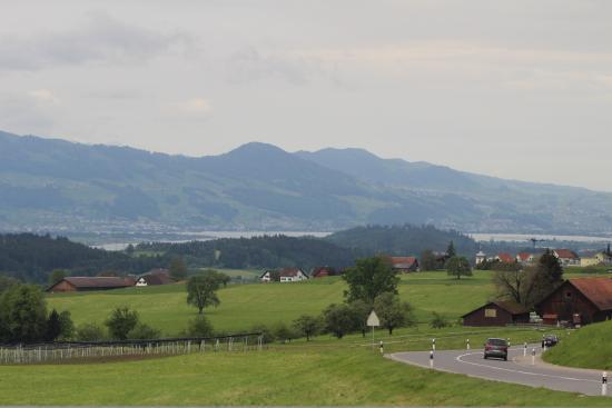 Waldegg: テラス席からの景色
