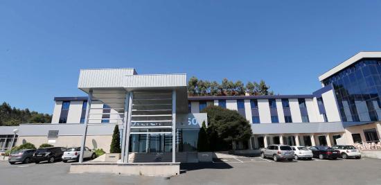 Hotel Congreso: Entrada principal