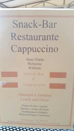 Il Cappuccino : One of alburfuria best  kept secrets fantastic