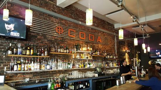 Maplewood, NJ: Full bar area