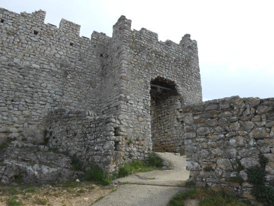 porte d 39 entr e de la forteresse picture of chateau de. Black Bedroom Furniture Sets. Home Design Ideas