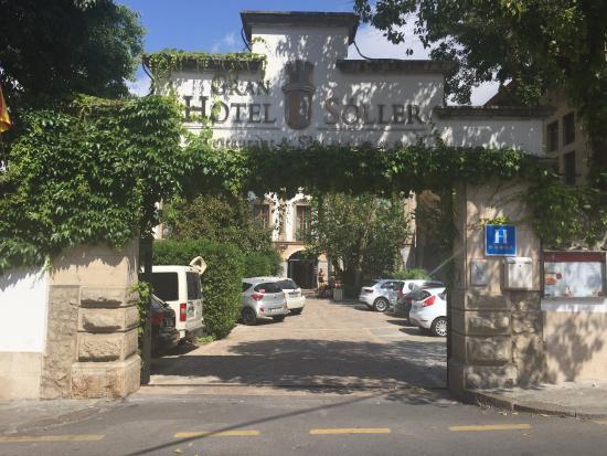 Can Blau : Gran Hotel Eingang
