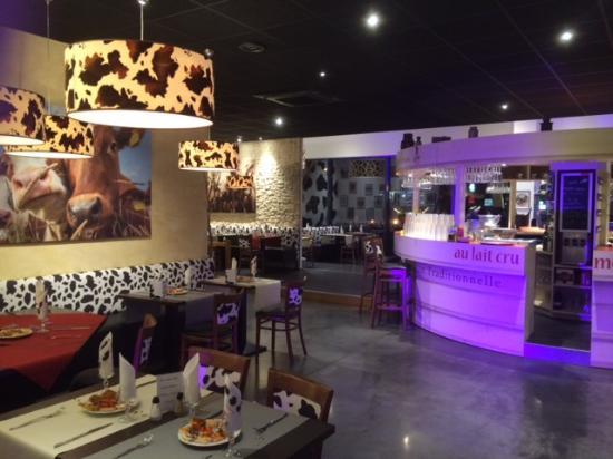 Mondeville, Francia: restaurant