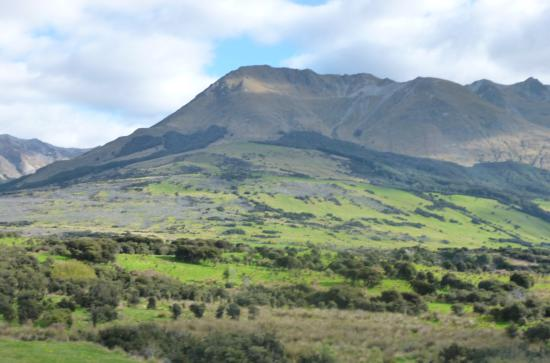 Queenstown, Neuseeland: The spectacular scenery fro the farm