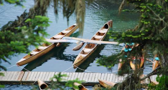Mendocino Campground: Canoe rental is a short walk