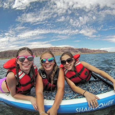 Carbondale, CO: SUPS are great for family!