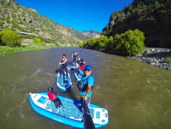 Carbondale, CO: Expereince the Mighty colorado river on paddleboard!