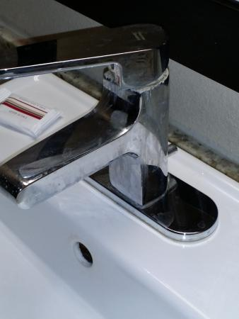 Peoria, IL: Faucet was nice and clean - right.
