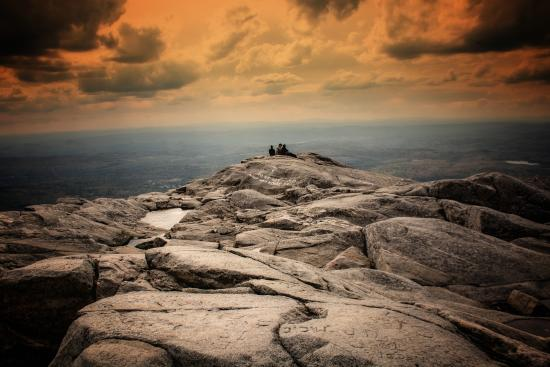 Jaffrey, NH: Summit of Mount Monadnock