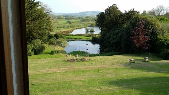 Merstone, UK: View from Garden Room
