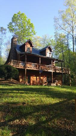 balcony and hot tub picture of mountain top cabin rentals blue rh tripadvisor co za