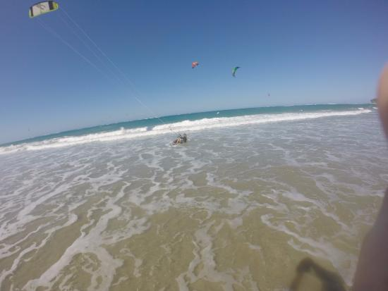 Kiteboarding in Cabarete! Great experience!