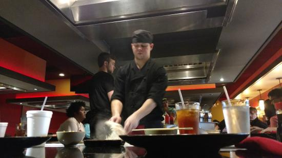 Yuki's Japanese Restaurant: Our chef