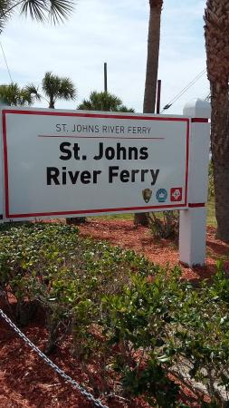 ‪St Johns River Ferry‬
