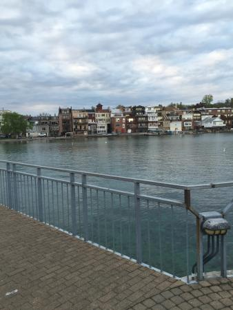 Skaneateles Suites Boutique Hotel: View from pier