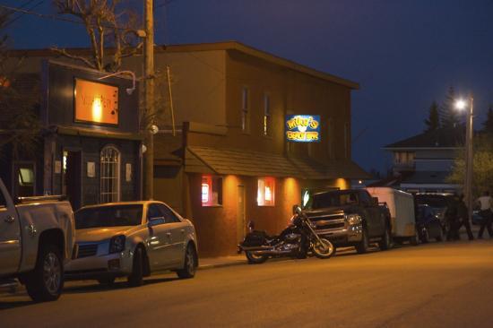 Watrous, Canada: Mike's Beach Bar, downtown Manitou Beach, SK