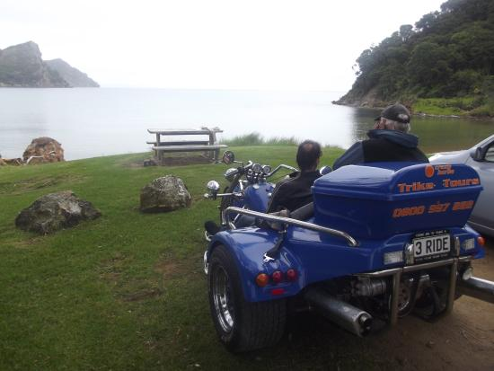 Go Great Barrier Island - Day Tours: On the bike tour with Steve