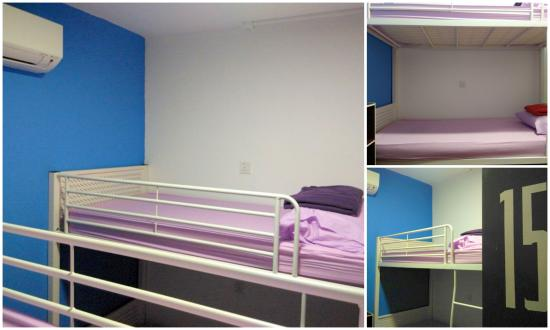 Moon Eleven near LCCT and KLIA: Dorm Room (bunk bed)