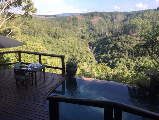 Tanamera Lodge: Breakfast View!