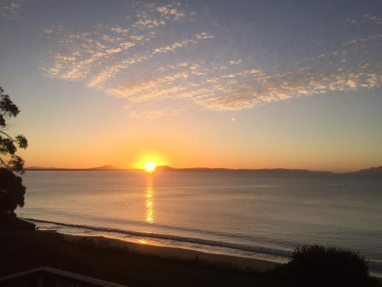 Swansea, Australien: beautiful sunrise