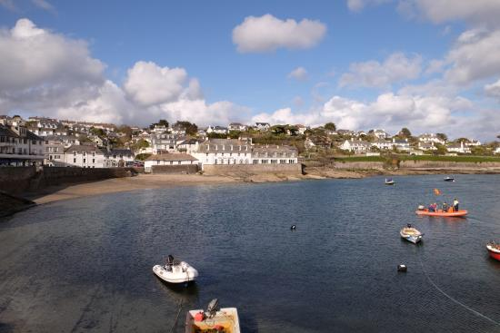 St Mawes, UK: Just literally outside