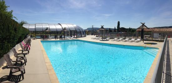 Camping De LEsquiras VallonPontdArc Ardèche Voir Les Tarifs - Camping a vallon pont d arc avec piscine