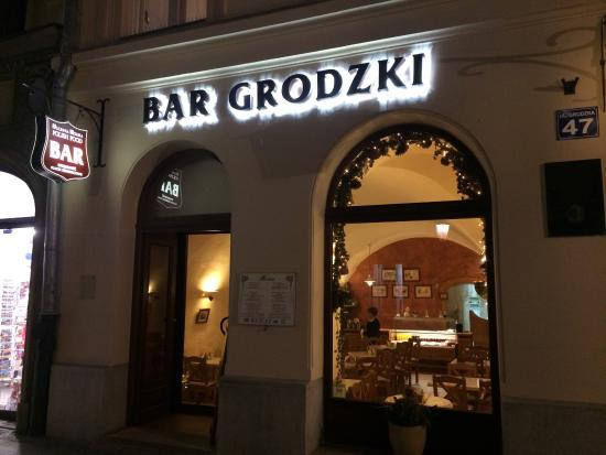Bar Grodzki : Excellent food, don't miss, simple but delicious