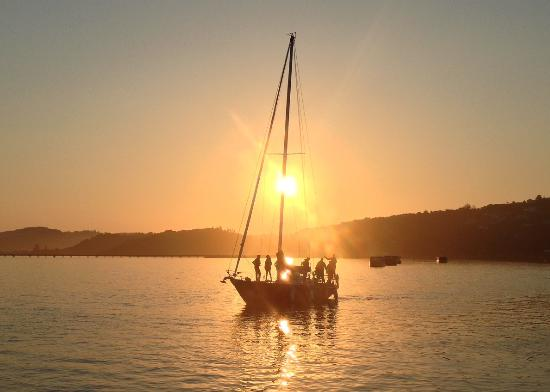 Southern Yachting Academy: Sunset in Knysna