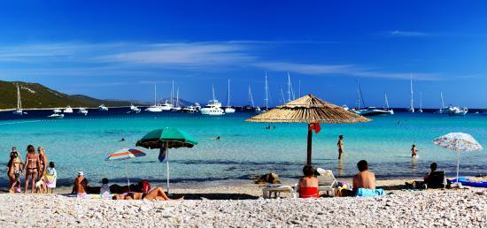 Kroatien: Sakarun Beach, Dugi otok