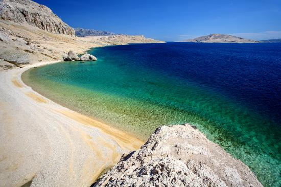 Croatie : Beritnica Beach, Island of Pag