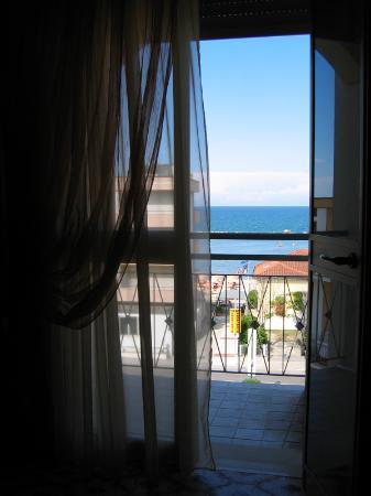 Hotel Olimpia: camera vista mare