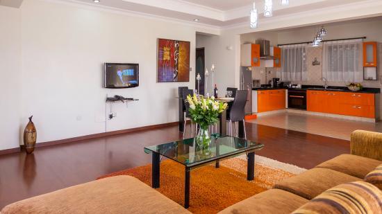 Eldon Villas Limited: Deluxe two bedroom living room