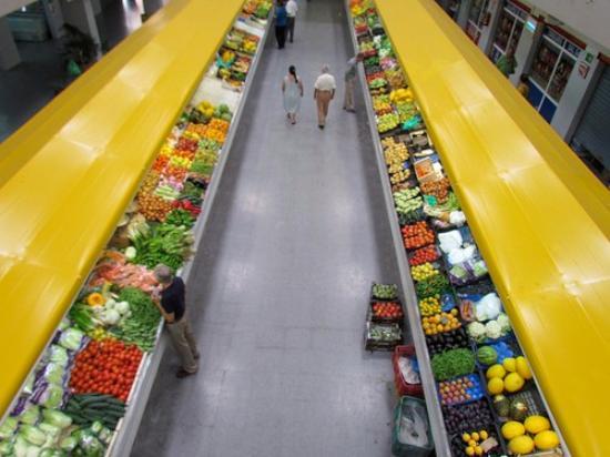 Melilla, Španielsko: Mercado Central Municipal