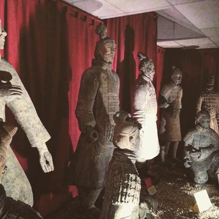 Terracotta Warriors Museum: Various reproductions.