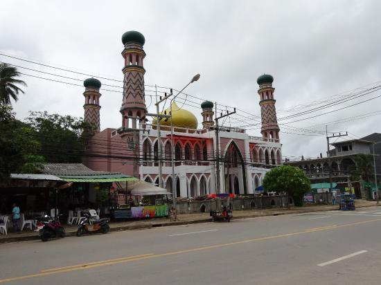 Aonang Goodwill: the mosque nearby