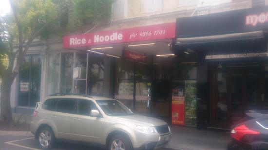 Brighton, Australia: Rice & Noodles