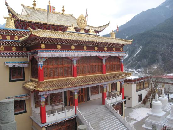 Kangding County, China: Nanwu Temple