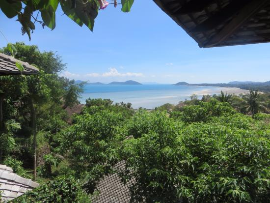 Laem Set, Thailand: View from Room 5