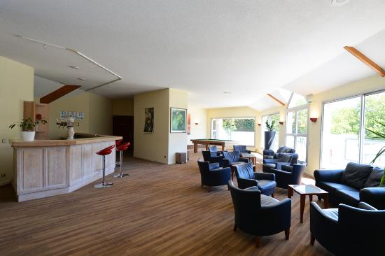 Hotel du Golf de Saint Laurent: Le salon du 1er etage